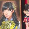 """やせた?""""総選挙1位""""指原莉乃の巨大肖像画がお披露目!展覧会「AKB48 選抜総選挙ミュージアム」オープニングセレモニー1"""