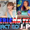 Japanese girls React To AMERICAN TEENS REACT TO J-POP