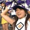 2008 高校野球 チア 千葉経大付 1