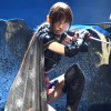 篠田麻里子、AKB48卒業後初舞台でくノ一姿を公開 中村勘三郎が壮絶な殺陣 舞台『真田十勇士』公開舞台げいこ