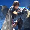 篠田麻里子、AKB48卒業後初舞台でくノ一姿を公開 舞台『真田十勇士』公開舞台げいこ