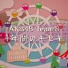 【AKB48 Team 8】AKB48 Team 8 1年間のキセキ