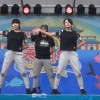 20161009 AKB48チーム8 横山結衣&本田仁美 ABA番組祭 だーよしコラボダンスLIVE