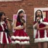 AKB48 チーム8 坂口渚沙 小栗有以 佐藤七海 クリスマスイブ 気まぐれステージ サンタ姿