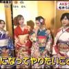 めざましが、AKB48グループ成人式に出た松井珠理奈、須藤凛々花らにインタビュー!