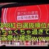 AKB48紅白選抜順位がめちゃくちゃ過ぎて不正祭り確定wwww