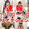 AKB48選抜総選挙速報メンバーリアクション (100位~1位)