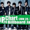 Top 20 Chart Billboard Japan (Jpop) (JUNE 24, 2017 )