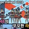 AKB48의 무모한 라이브 (japan expo thailand 2018)