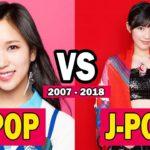 K-POP  VS J-POP  (2007 – 2017) | The Evolution Of Kpop And Jpop (2007 – 2017)