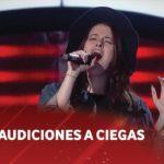 """Luna Mendez – """"Eleanor Rigby"""" – The Beatles – Audiciones a ciegas – La Voz Argentina 2018"""