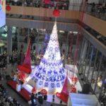 【4K】Marunouchi Bright Christmas 2018 ~北欧から届いたクリスマス with Yuming~『クリスマスツリー点灯式』2018.11.8 @丸ビル1Fマルキューブ