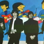 ♫ The Beatles a party for the Beatles cartoon series at the TVC studios, 1965
