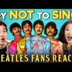 Generations React To Try Not To Sing Along Challenge (Beatles Edition)