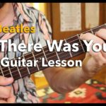 """The Beatles """"Till There Was You"""" Rhythm Guitar Lesson  Pt.1-2"""