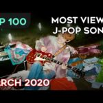 [TOP 100] MOST VIEWED J-POP SONGS – MARCH 2020