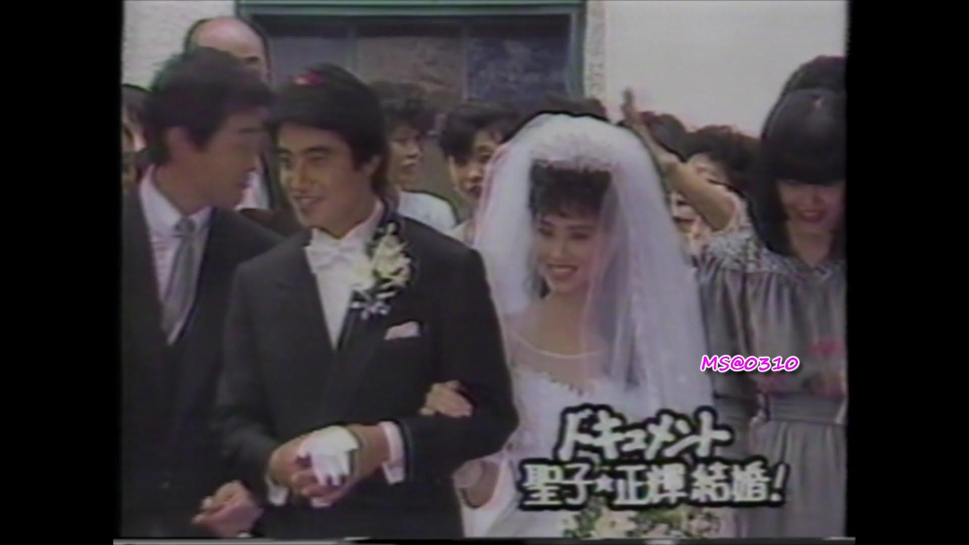 """松田聖子&神田正輝 """"聖輝""""の結婚 挙式~披露宴~ハネムーン出発 密着ドキュメント 1985年6月24日 Seiko Matsuda"""