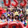 """AKB48、USJで連日ライブ開催 横山「今年の夏は""""USJ48""""に」  「AKB48グループ選抜『やり過ぎ!サマー』 at Universal Studios Japan」発表サプライズライブ2"""
