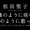松田聖子/薔薇のように咲いて 桜のように散って(ドラマ「せいせいするほど、愛してる」主題歌)