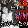 郷ひろみはなぜ、松田聖子と結婚しなったのか?二谷友里恵と離婚したワケは?【ゴシップ館】