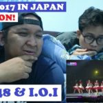MAMA 2017 IN JAPAN AKB48 & I.O.I PERFORM REACTION 'MENDADAK WOTA' WITH ALPHIANDI