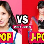 K-POP 🇰🇷 VS J-POP 🇯🇵 (2007 – 2017) | The Evolution Of Kpop And Jpop (2007 – 2017)