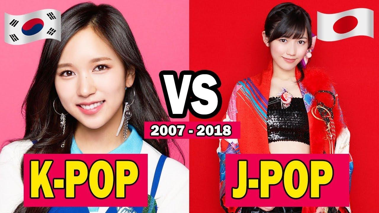 K-POP 🇰🇷 VS J-POP 🇯🇵 (2007 – 2...