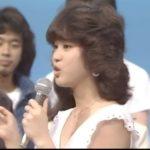 松田聖子 夜のヒットスタジオ 白いパラソル 1981年9月14日